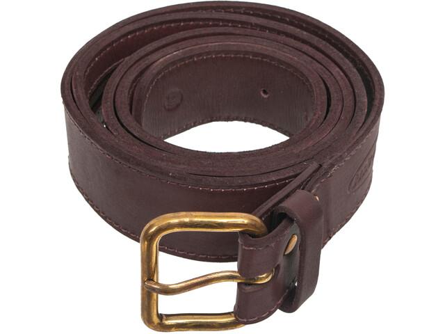 Basic Nature Classic Belt in Gift Wrapping, mokka